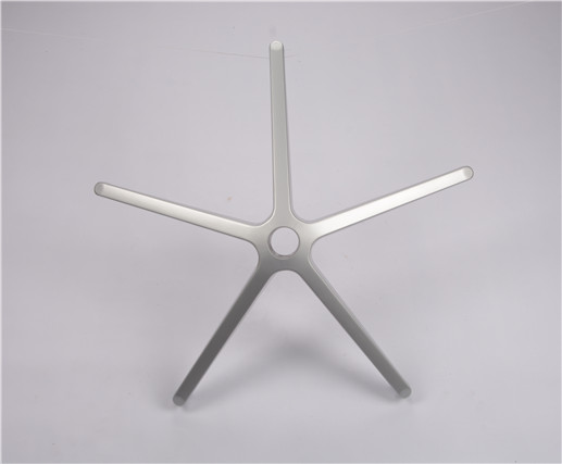 five star Polishing Silver  office chair  base